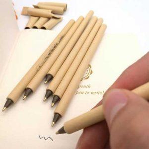 Boligrafos ecologicos biodegradables