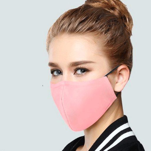 mascara de tela eco friendly protectora virus