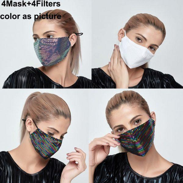 Mascarilla colores lisos online reutilizables facial lavable tela España