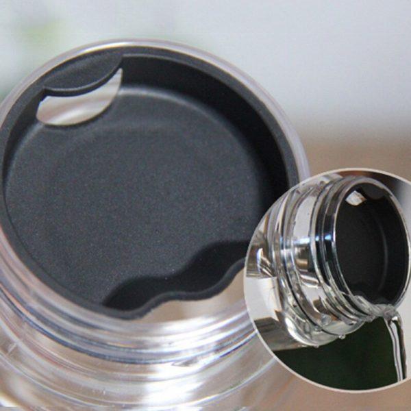 Botellas de agua de 500ml World botellas con dibujo de mapa para agua a prueba de fugas portátil al aire libre deporte ciclismo botella de agua para acampar Dropshipping