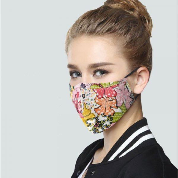 Mascarilla PM2.5 de algodón coreano Unisex, máscara facial de tela Anti-polvo con filtro de carbón activado, mascarilla facial anti-pm2. 5