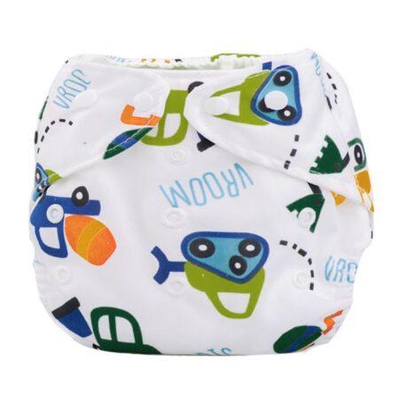 Pañal de tela para bebé, impermeable, reutilizable, tamaño bolsillo, precio de venta al por mayor, apto para 3-15kg G 1 unidad