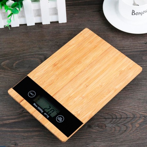 bascula de bambu, productos innovadores ecológicos para el hogar