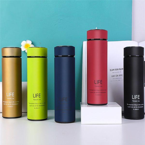 Termos para el hogar de 500ML, frascos de té de acero inoxidable, tazas de Termos, taza de café, botella de agua, regalo de negocios para la oficina, Thermocup #6