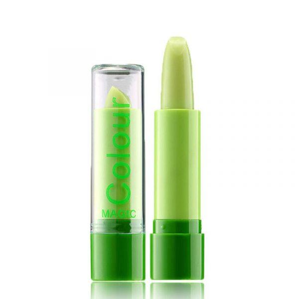 Cosmetica bio embarazo cambio de color con la temperatura de maquillaje labial
