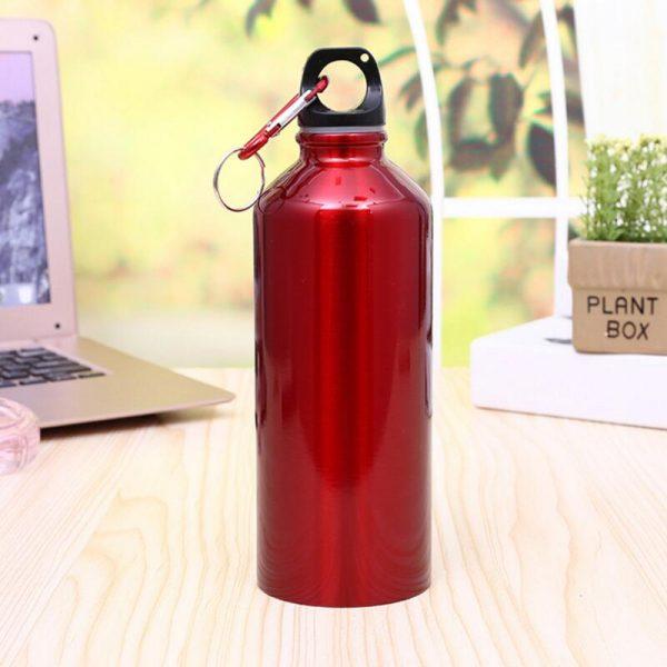 Al aire libre de fugas a prueba de agua botella para ciclismo y camping deportes de bicicleta de acero inoxidable frasco de agua botella