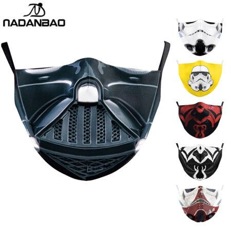 Mascarillas de tela comprar online Cosplay lavable máscaras tela reutilizable PM2.5 filtros