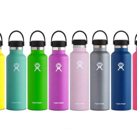 21oz botella de agua de acero inoxidable Hydro frasco botella de agua al aire libre aislado al vacío de boca de botella de agua portátil