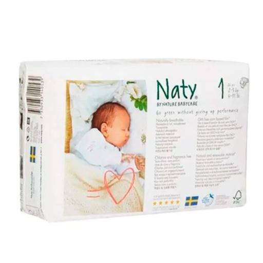 Pañal ecologico marca Naty