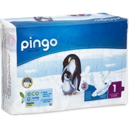 PINGO - Pañales talla 1 - 27 capas