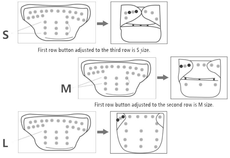 ajuste y funcionamiento de pañales ecologicos sin parabenos